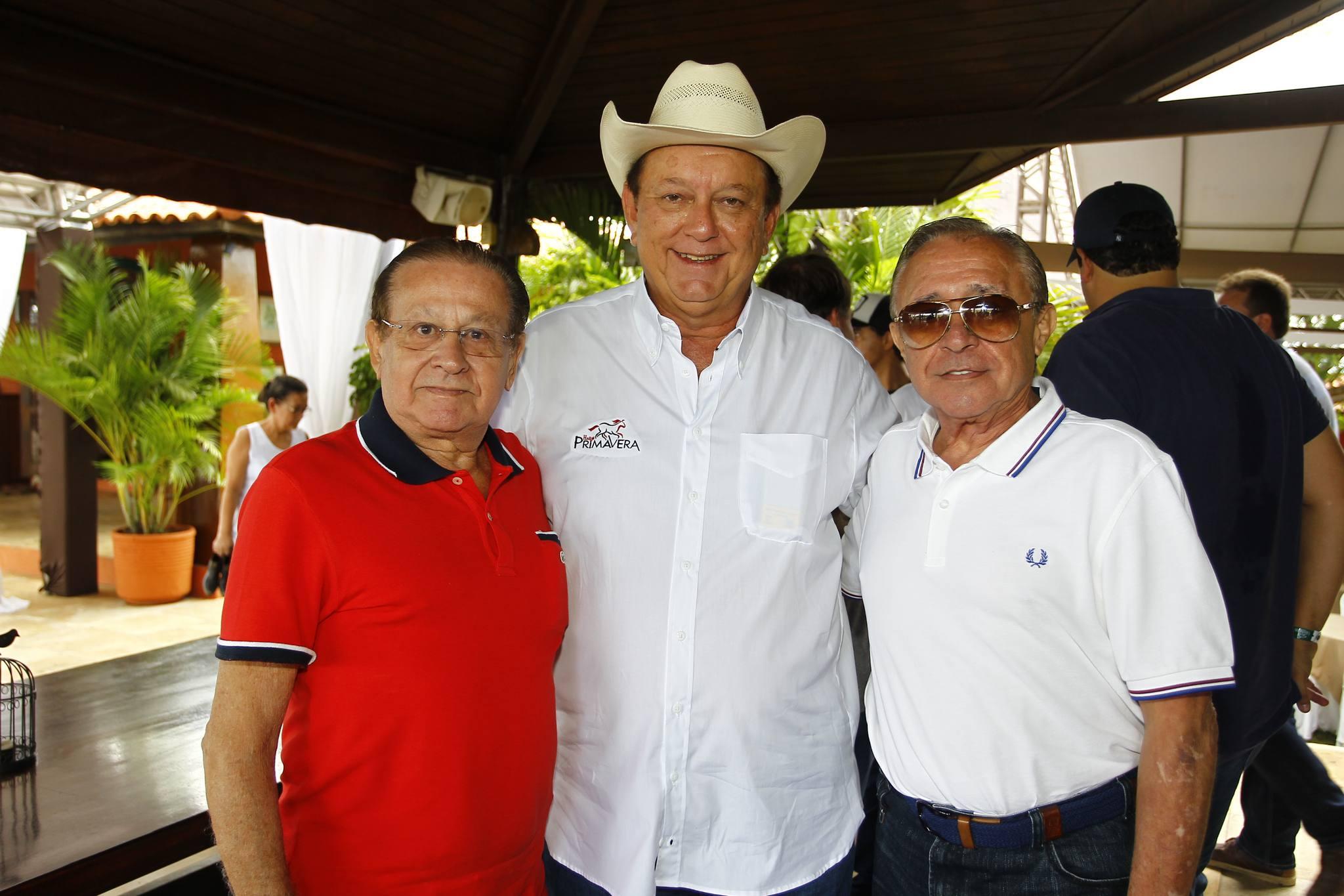Alvaro Andrade, Rafael Leal E Kalu Brandao