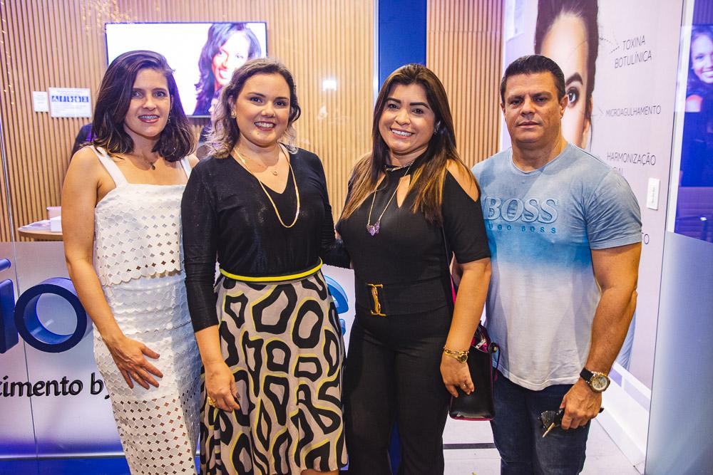Ana Flavia Dantas, Flimeira Ferreira, Ednusa Gomes E Rocine Cartaxo
