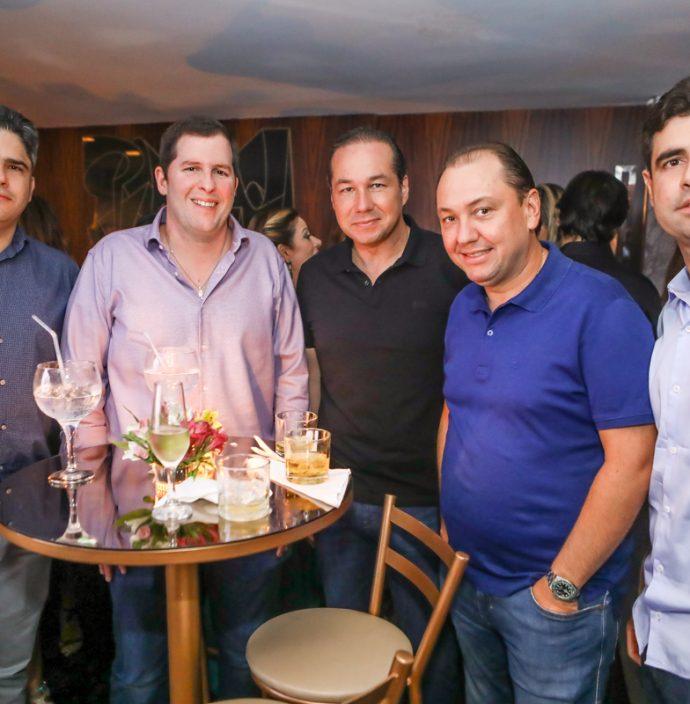 Anderson Quintao, Rodrigo Carneiro, Joaquim Araujo, Ariston Pessoa E Bruno Barreira