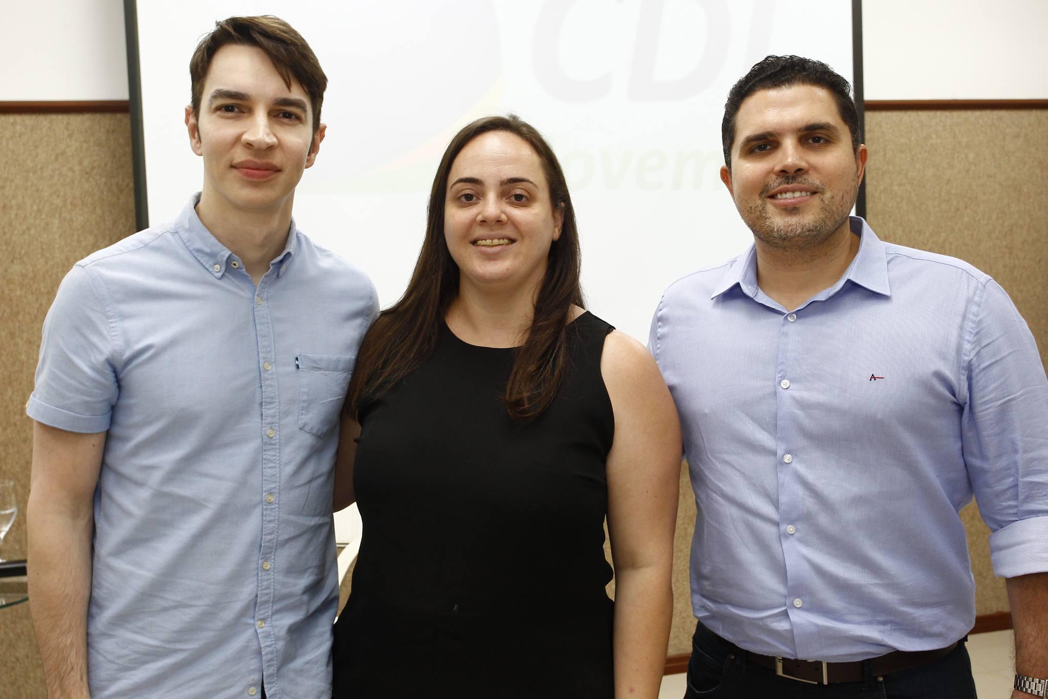 Andre Albuquerque, Aniele Pinzon E Rodrigo Castelo Branco
