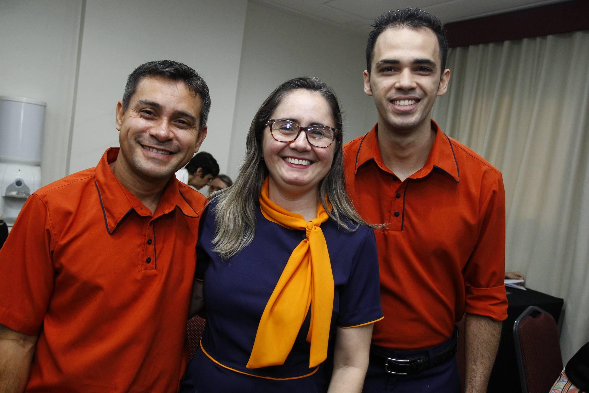 Andre Da Silva, Jeane Rodrigues E Douglas Batista