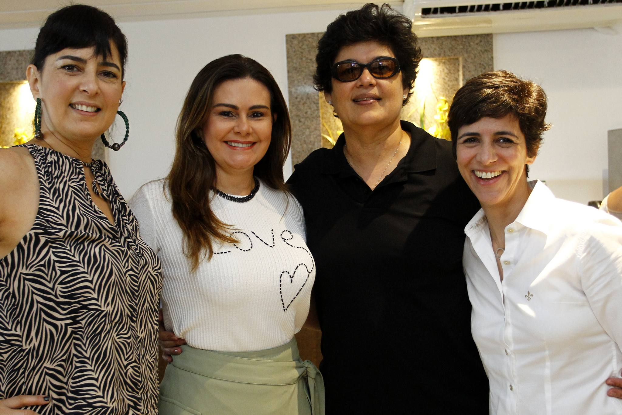 Armenui Boyadjian, Ivana Bezerra, Cordelia Queiroz E Simone Moura