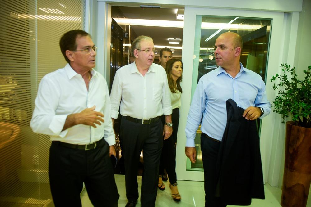 Beto Studart, Ricardo Cavalcante E Carlos Alexandre Da Costa