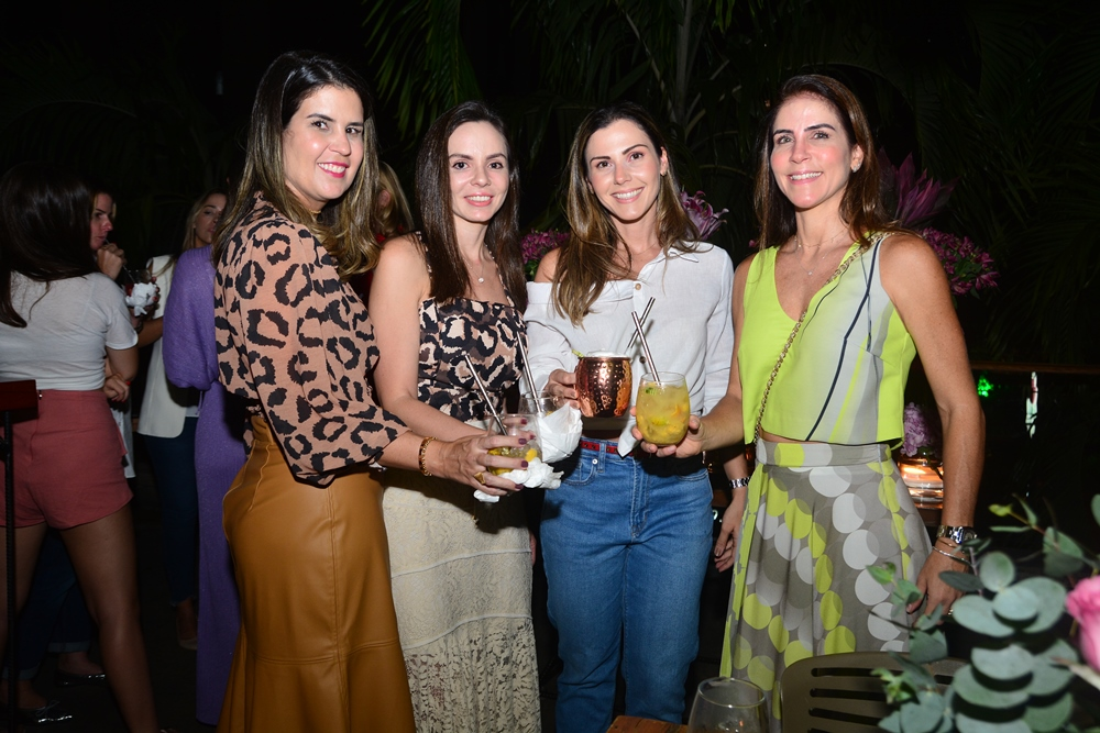 Bia Pontes, Giovana Bezerra, Angela Martin E Raquel Jucá