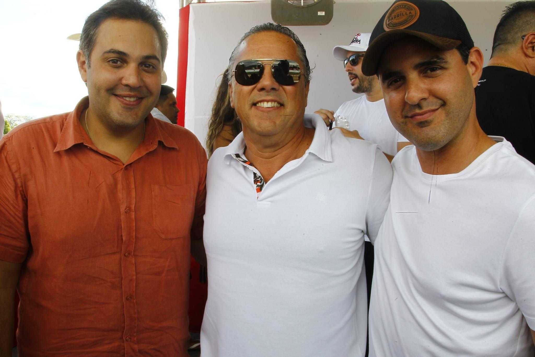 Bruno Bastos, Claudio Leal E Guilherme Vieira