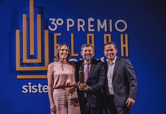 """BSPAR é premiada no Flash Imobiliário por """"Valor de Vendas Comerciais 2019"""""""