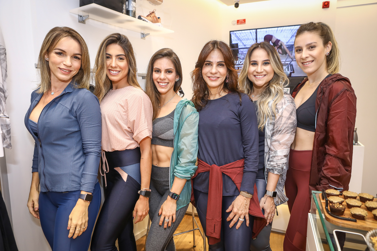 Carine Aragao, Bruna De Faria, Manu E Sandra Rolim, Roberta Fernandes E Talita Pontes