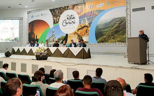 Setur, Secult e Sebrae lançam a Rota Cariri para impulsionar o turismo na região Sul do Ceará