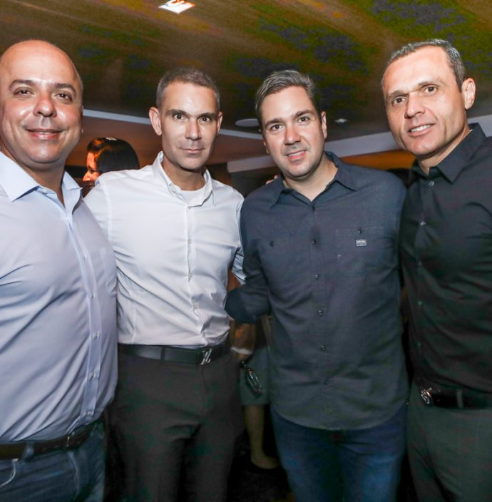 Carlos Da Costa, Marcio Calux, Eduardo Bismarck E Eduardo Diogo