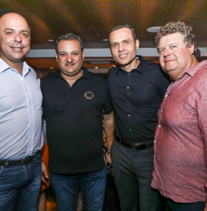 Carlos Da Costa, Patriolino Dias, Eduardo Diogo E Evandro Colares