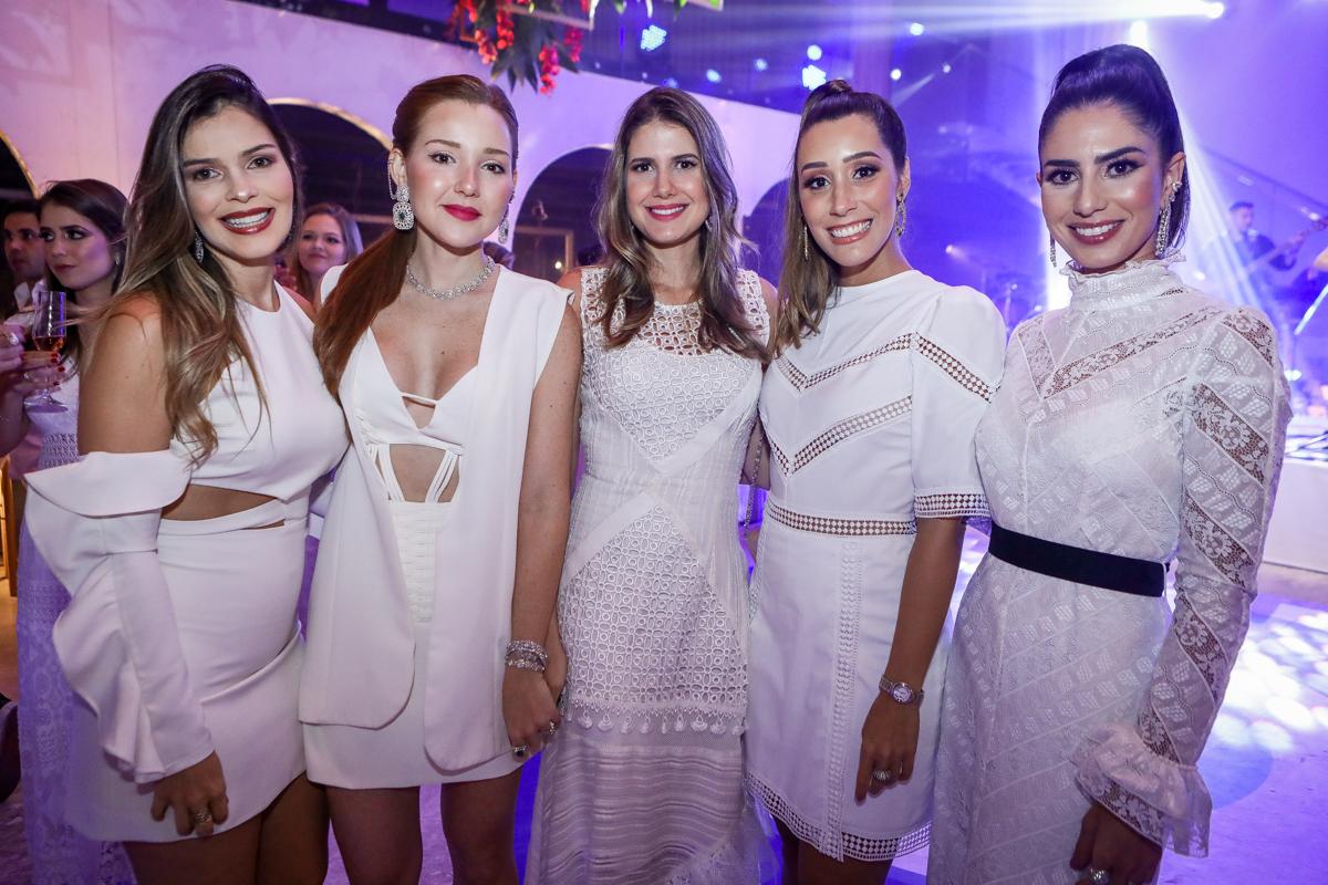 Carolina Froes, Larissa Furtado, Marilia Diogenes, Manoela Mota E Nicole Pinheiro