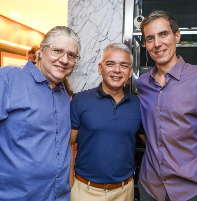 Cassio Sales, Cristiano Peixoto E Leo Alcantara