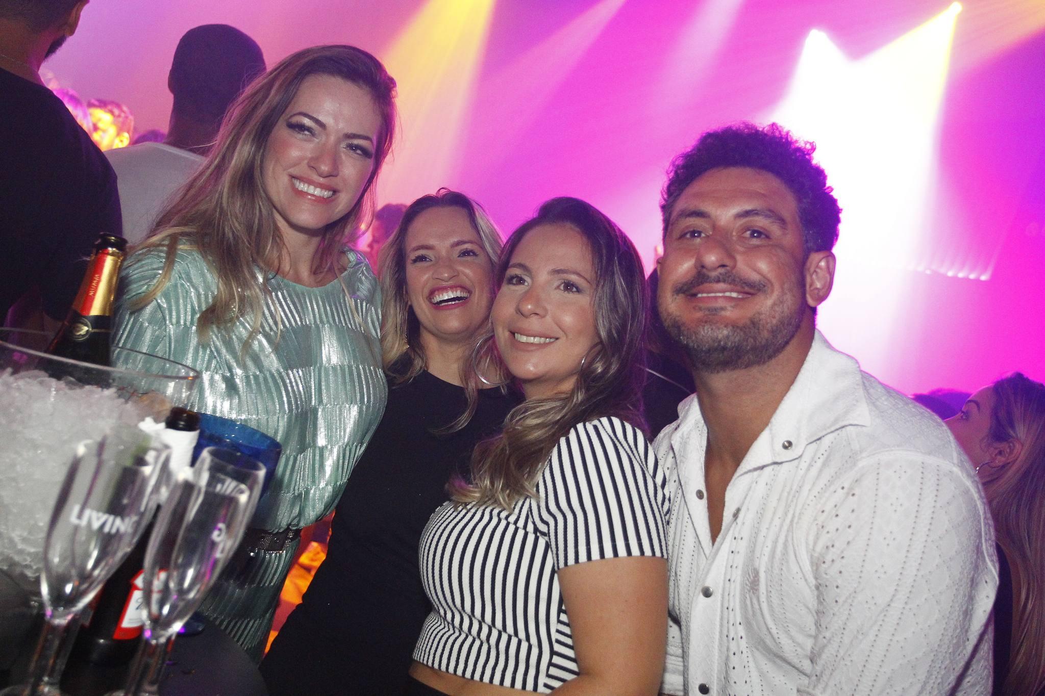 Cecilia Regadas, Marcela Souza, Marcelle Timbo E Lauro Cruz
