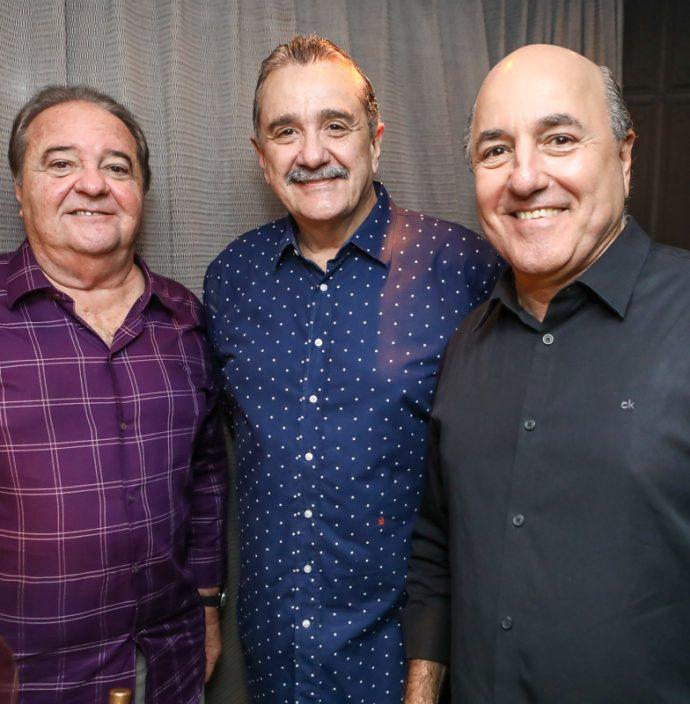 Chiquinho Aragao, Bismarck Maia E Silvio Frota