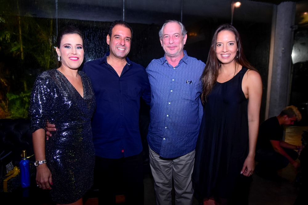 Cibele E Fábio Campos, Ciro Gomes E Giselle Bezerra