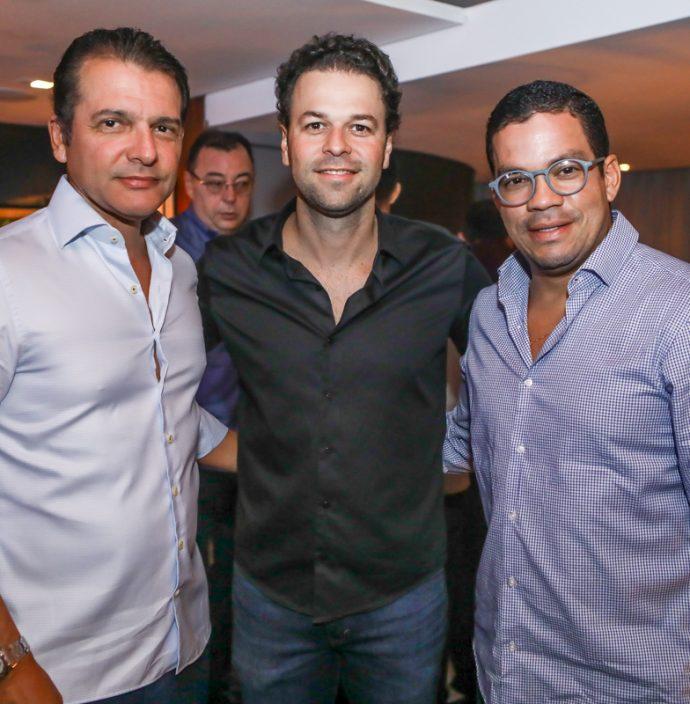 Claudio Moreira, Geraldo Rola E Kaka Queiros