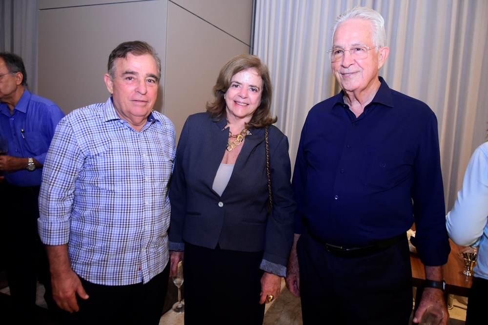 Claudio Targino, Roseane Medeiros E Carlos Prado