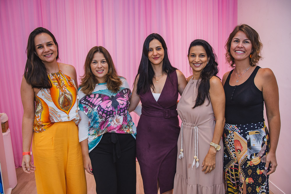 Cristiane Perez, Thaisa Garcia, Clarissa Sendra, Daniela Serafim E Fernanda E Paula Tarbes