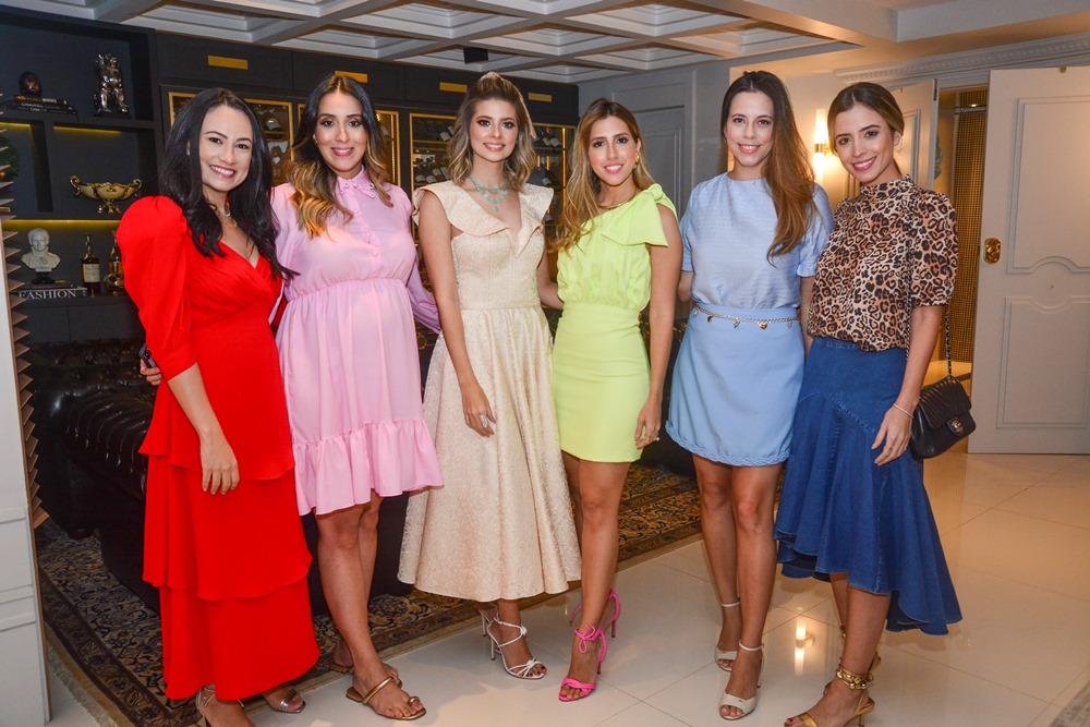 Daniela De Paula, Nathalia Ximenes, Leli Albuquerque, Tayra Romcy Rebeca Parente E Mikaela Bottura