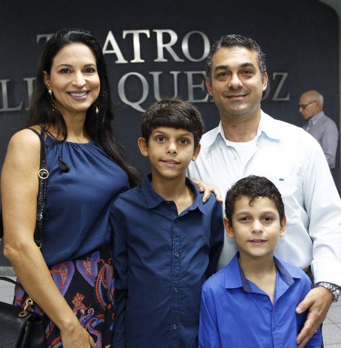 Daniella, Thiago, Marceloe Alexandre Serafim
