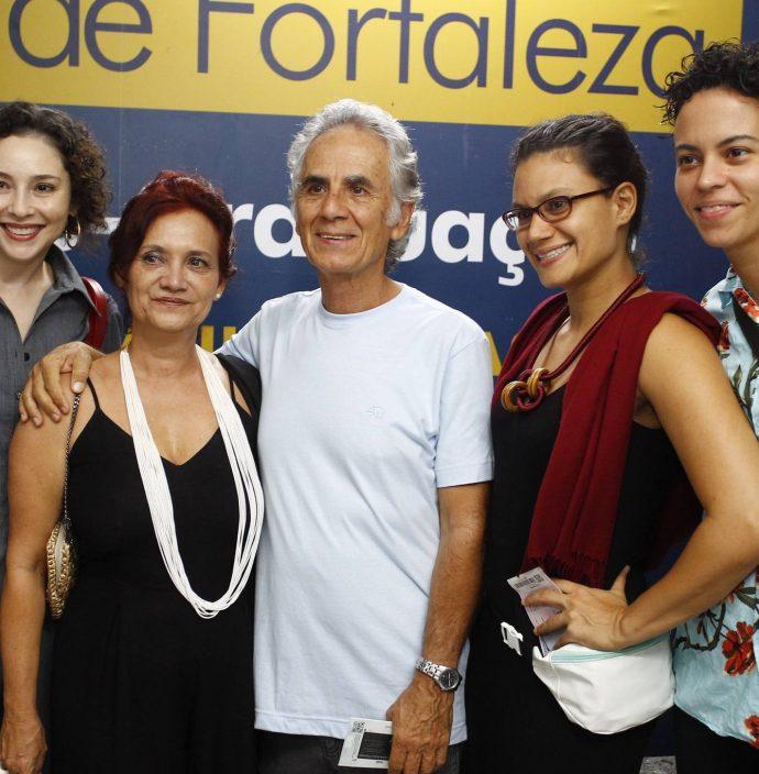 Denise Teles, Claudia, Valmir E Gabriela Jardim E Livia Soares