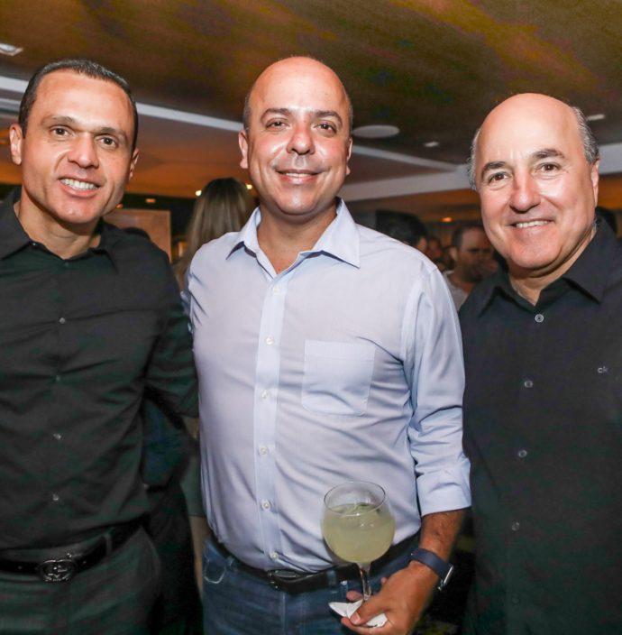 Eduardo Diogo, Carlos Da Costa E Silvio Frota