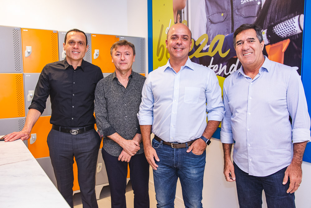 Eduardo Diogo, Mauricio Filizola, Carlos Da Costa E Luiz Gastao Bittencourt