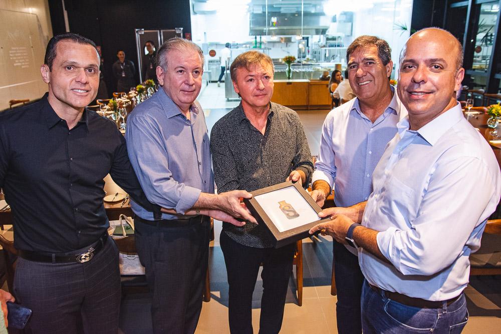 Eduardo Diogo, Ricardo Cavalcante, Mauricio Filizola, Luiz Gastao Bittencourt E Carlos Da Costa