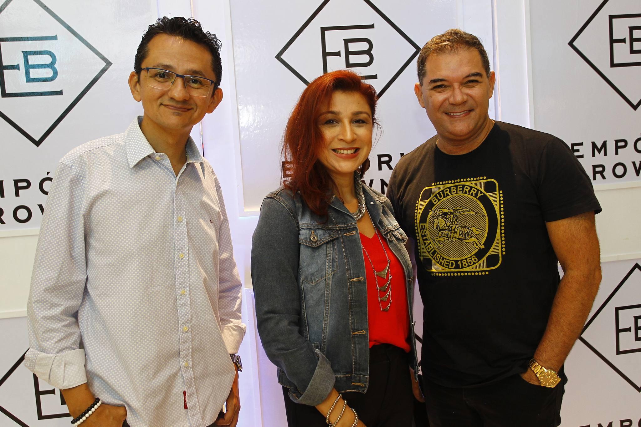 Eduardo Galdino, Patricia Porto E Luciano Rocha