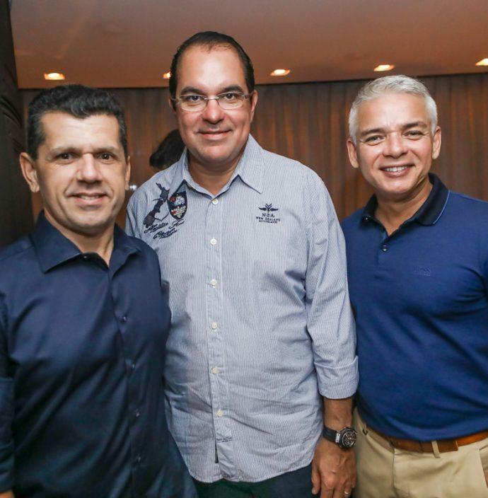 Erick Vasconcelos, Leo Albuquerque E Cristiano Peixoto