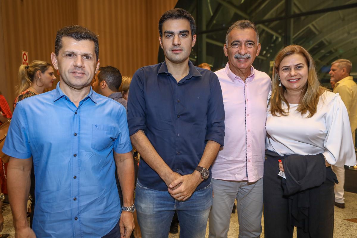 Erick Vasconcelos, Rodrigo Nogueira, Artur Bruno E Natercia Rios