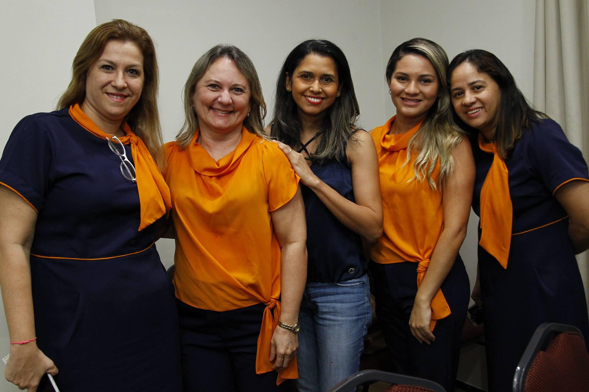 Evelize Lima, Diana Dagenes, Mara Fluvia, Glauciane E Meire Oliveira