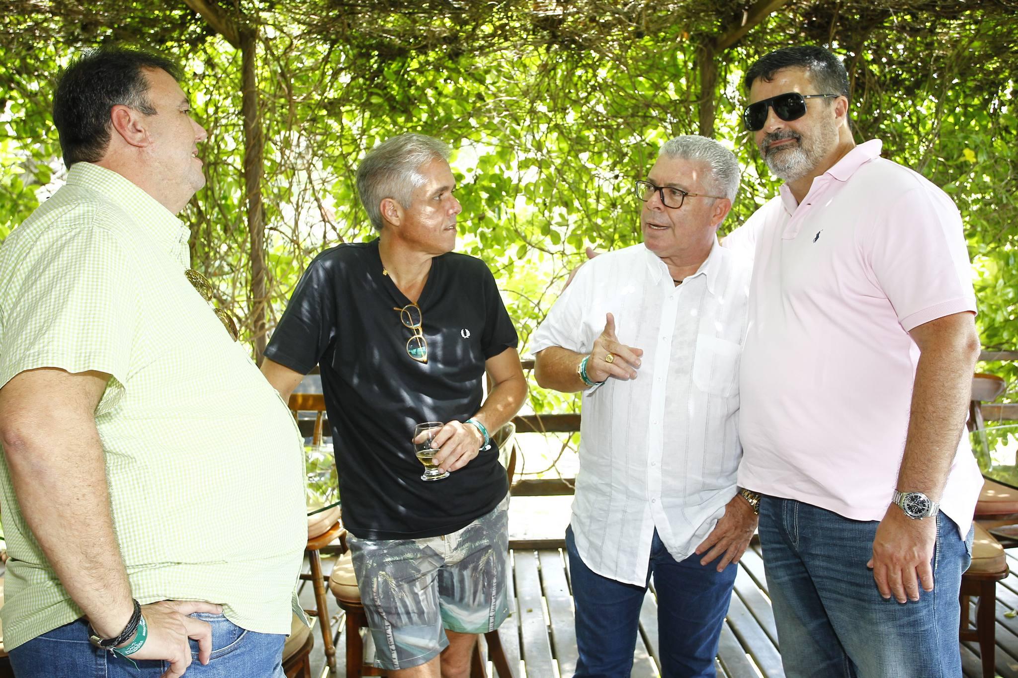 Fabio E Eduardo Leal, Ricardo Studart E Paulo Costa