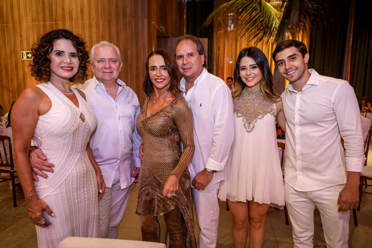Fernanda Freitas, Paulo Fernandes, Carla Baide, Carlos Vega, Carol Freitas E Salim Baide