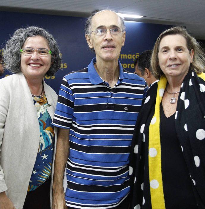 Fernanda Rocha, Paulo Borges E Vania Franck