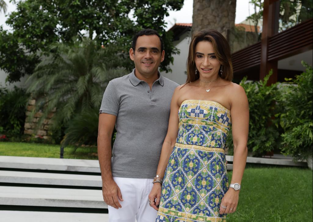 Camila e Fernando Quinderé festejam a nova idade dele comme il faut