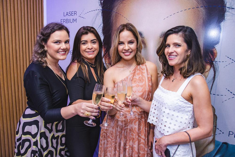 Flimeira Ferreira, Ednusa Gomes, Adriana Dias E Ana Flavia Dantas
