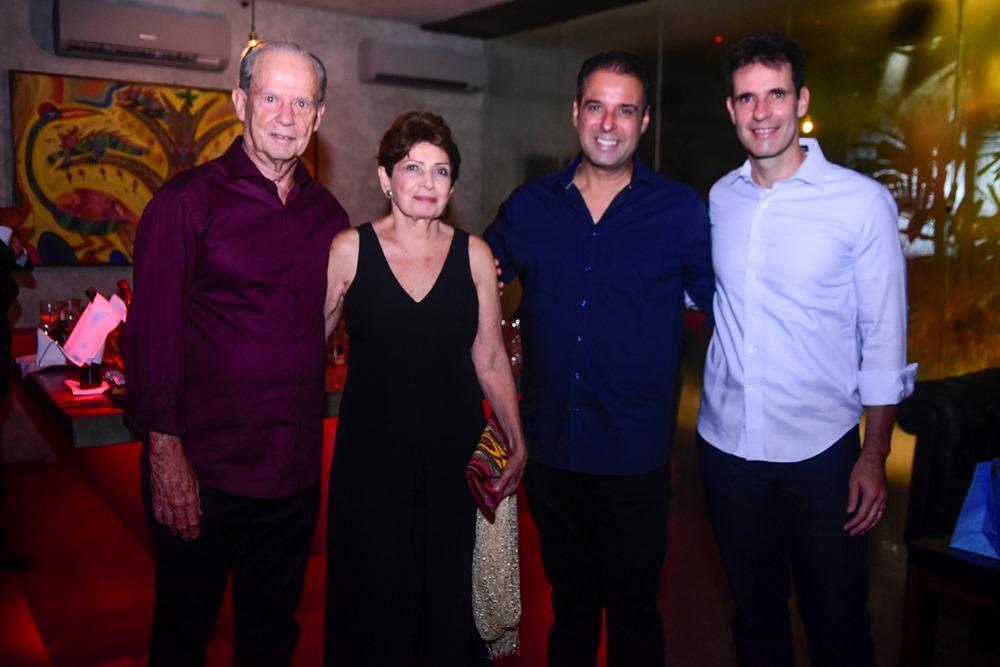 Francisco De Assis, Yolanda Campos, Fábio Campos, Paulo Barbosa