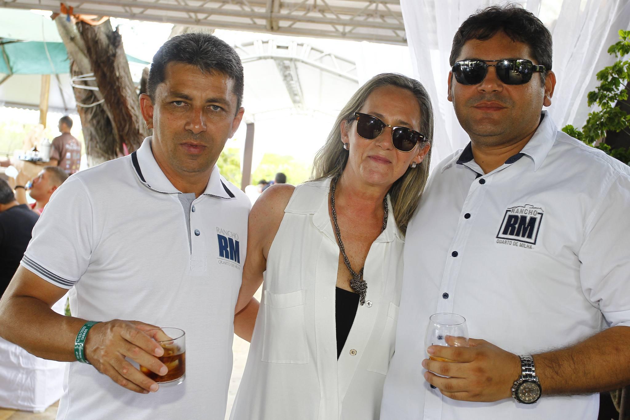 Francisco Junior, Tuca Baggio E Edil Mazile