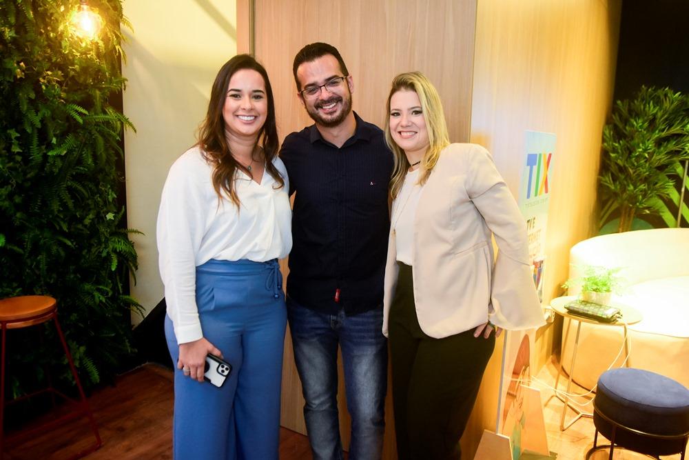 Gabriele Romeiro, Emanuel Veras E Luciana Teixeira