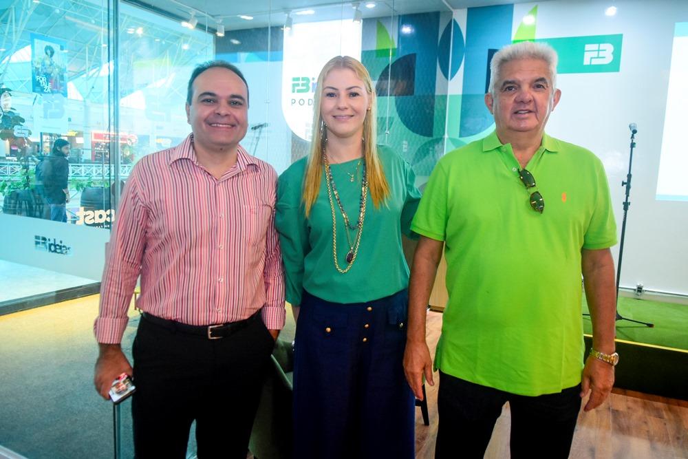 Guilherme Ellery, Fernanda Denardin E Tales De Sá Cavalcante