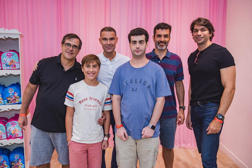 Helio Lopes, Marcio Carlux, Thiago Mendes E Jerson Gradvolh