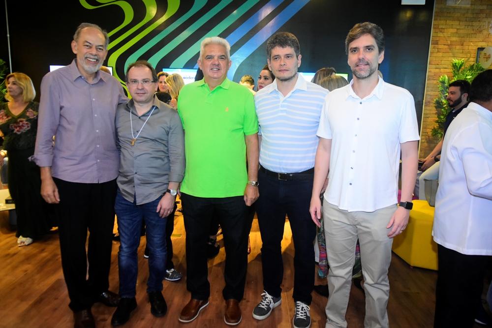Inácio Arruda, Carlos Matos, Tales De Sá Cavalcante, Fabricio Cavalcante E Ruy Do Ceará
