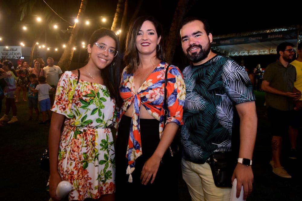 Ingrid Sampaio, Natasha Rocha E Mateus Valente