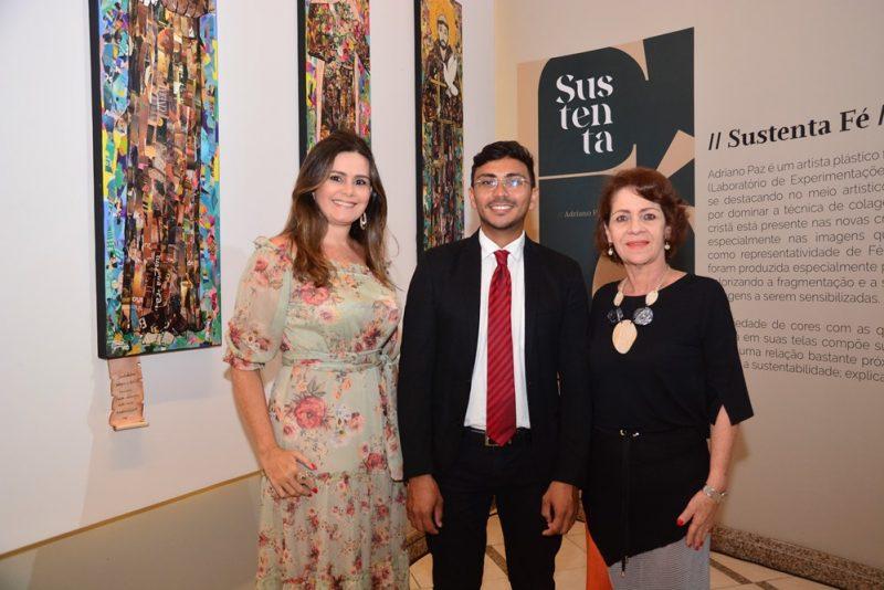 Ivana Bezerra, Adriano Paz E Lilian Quinderé