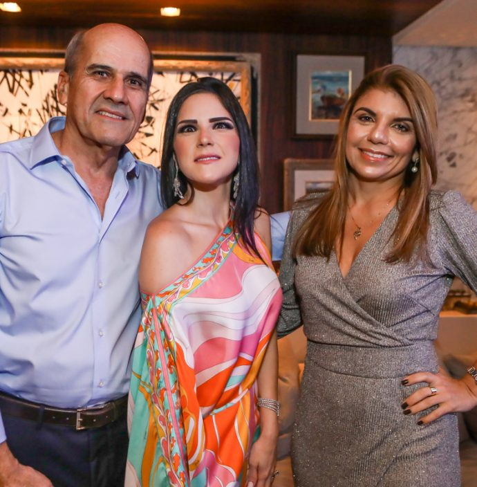Jose Quintao, Marilia Quintao E Valeria Carneiro