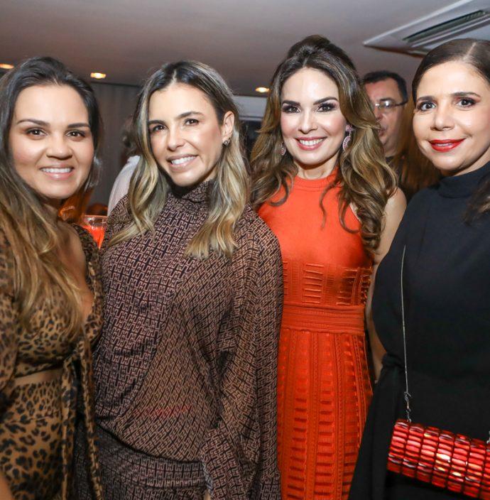 Katerine Queiros, Liliana Rola, Eveline Fujita E Maria Lucia Carapeba