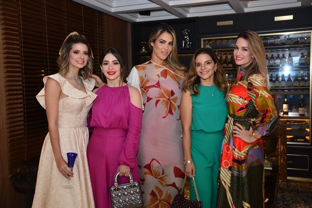 Leli Albuquerque, Luiza Bezerra, Maria Isabel Cabral, Viviane Martins E Germana Melo