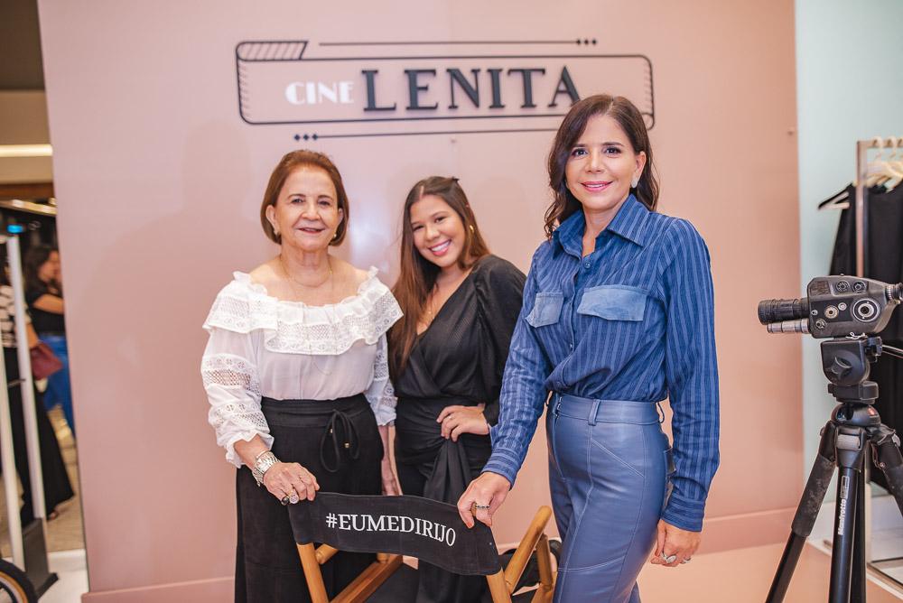Lenita e Maria Lúcia Negrão reúnem um time dos bons para sessão de cinema no RioMar