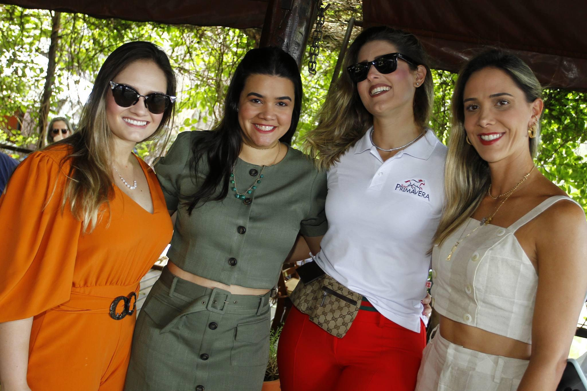 Leticia Teixeira, Priscila Leal, Rebeca Bastos E Livia Vieira